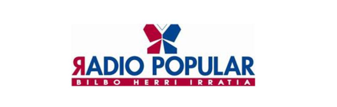 Entrevista en Radio Popular de Bilbao