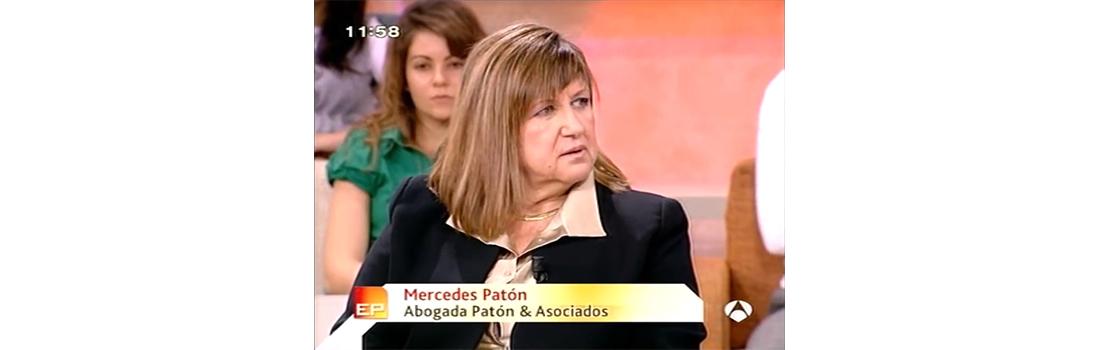 Mercedes Patón en Espejo Público de Antena 3