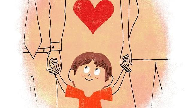 Cómo explicar a un niño que sus padres se divorcian