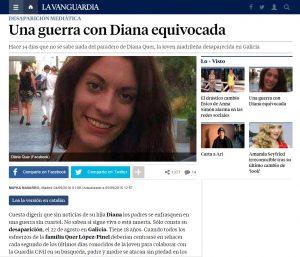 La Vanguardia Diana Quer