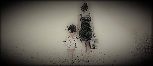 ¿Qué derechos tiene un padre si una madre se fuga con el hijo común?