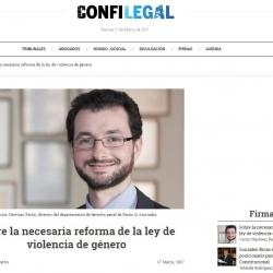 Víctor  Martínez Patón: Sobre la necesaria reforma de la ley de violencia de género