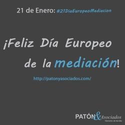 21 de enero: Día Europeo de la Mediación