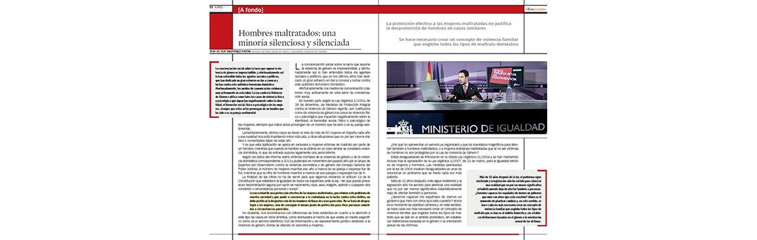 """""""Una minoría silenciosa y silenciada"""". Tribuna de Víctor Martínez Patón en IurisLex"""
