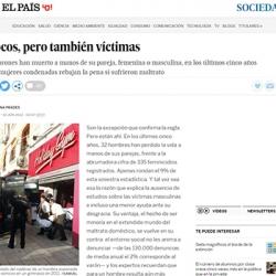 Reportaje y entrevista en El País