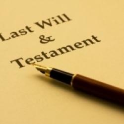 La necesidad de escribir un testamento